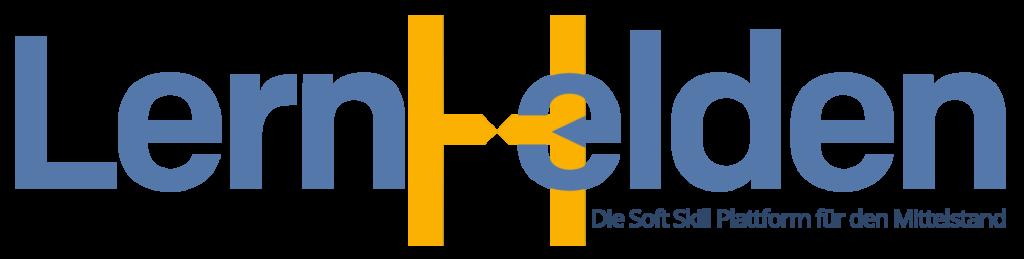 LernHelden Logo  steht für die LernHelden.online Marke der Pischel/Lang GbR Deutschland's Top Soft Skill Plattform für den deutschen Mittelstand