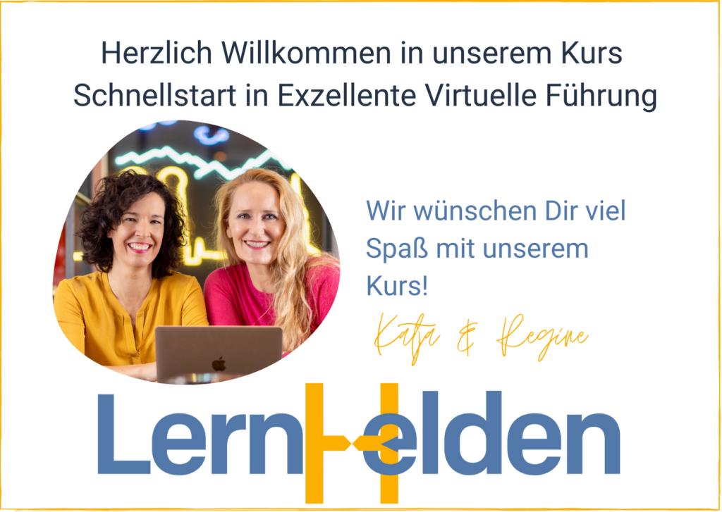 Katja & Regine für die LernHelden.online Deutschland's Top Soft Skill Lernplattform für den Mittelstand