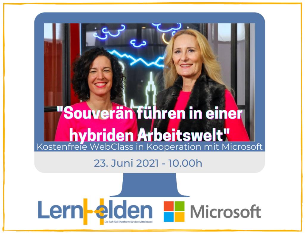 Katja Pischel und Regine Lang für die LernHelden.online in Kooperation mit Microsoft Deutschland